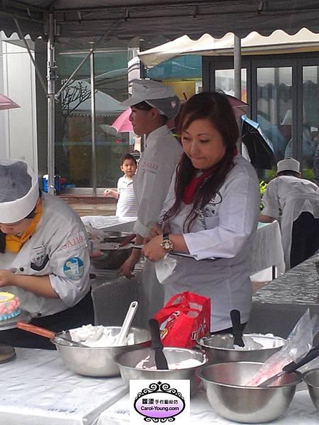2013年5月11日台灣蛋糕協會舉辦母親節蛋糕比賽