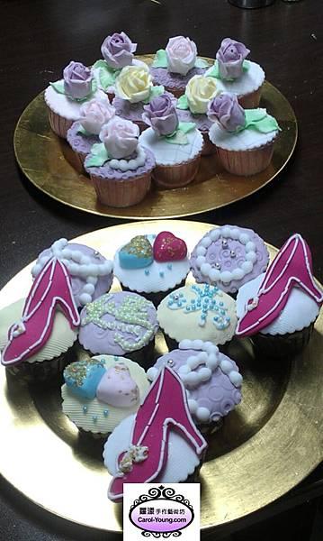 一對一母親節杯子蛋糕烘焙課程-201305