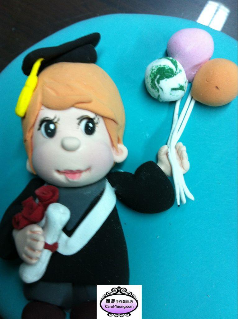 蘿漾培訓學員團體課程-禮品設計:畢業生公仔-20130607