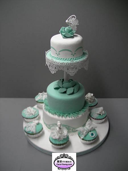 蒂芬妮蕾絲蛋糕組