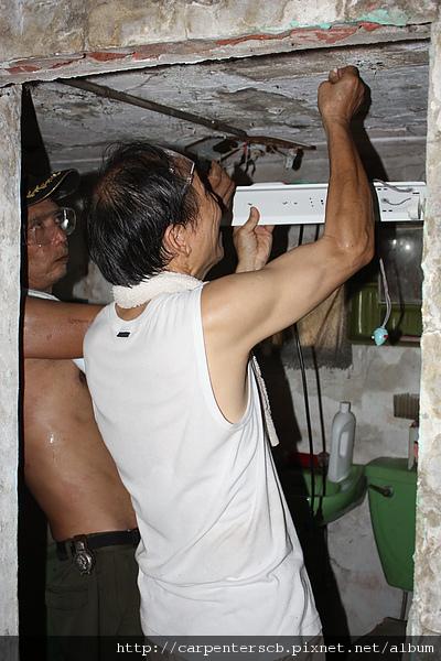 2010.10.02 支援觀音獨居老人修繕居家