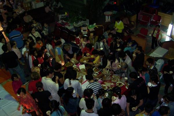96.11.17感恩節party