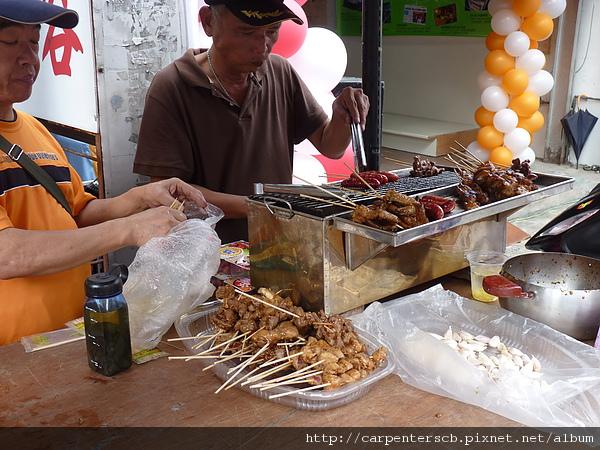 阿寶賣烤香腸