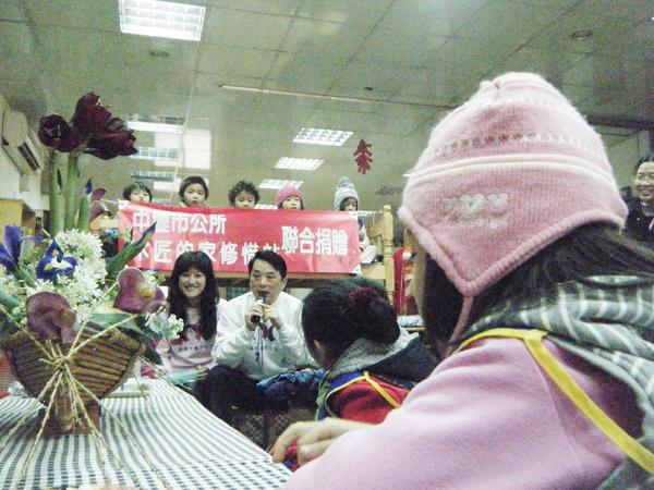 魯市長對小朋友環保教育
