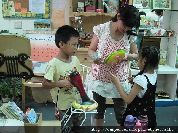 燈塔幼稚園安親蝶古巴特課程體驗