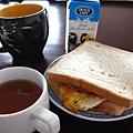 正常的早餐-三明治
