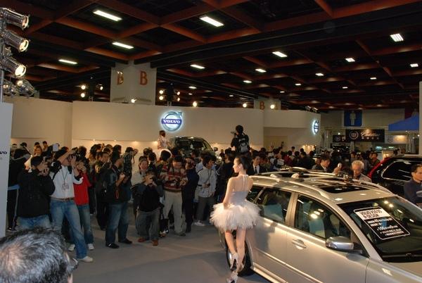 VOLVO 2009新車大展現場.JPG