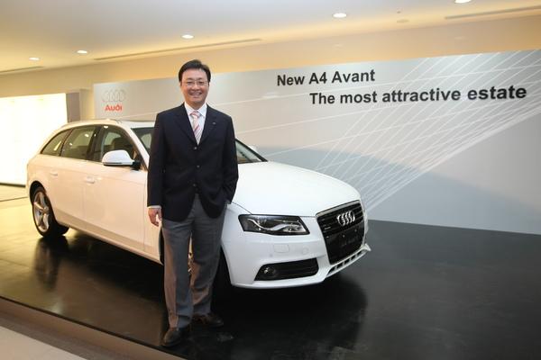 3-Audi Taiwan總裁邱山祥與A4 Avant.JPG