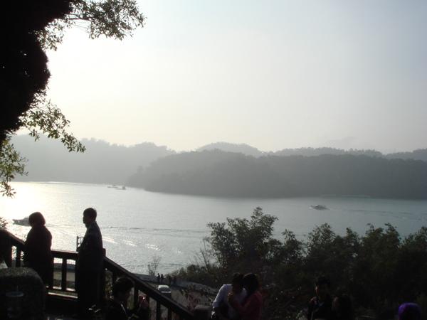玄光寺的湖景