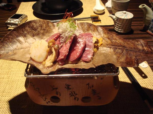 蒲葉燒牛肉