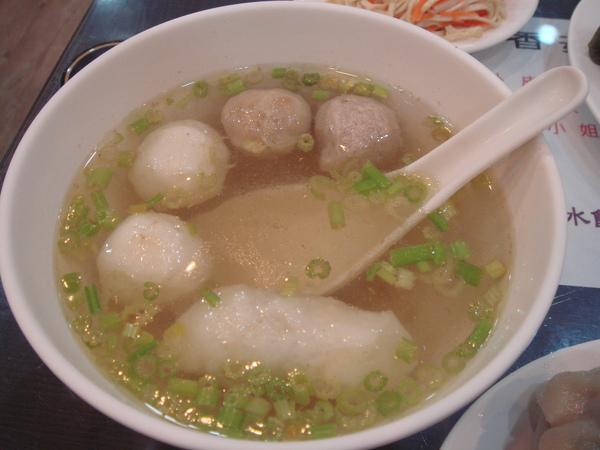 綜合丸子湯
