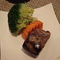 魚塊與時蔬