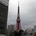 抽空跑去了東京鐵塔一趟
