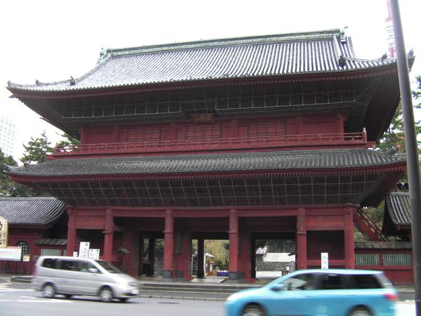 增上寺 大門