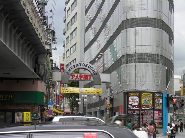 上野車站 不忍口出口的阿美橫町入口
