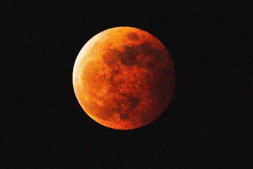 20141008 紅色月亮