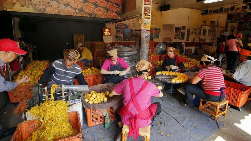 新埔柿餅工廠