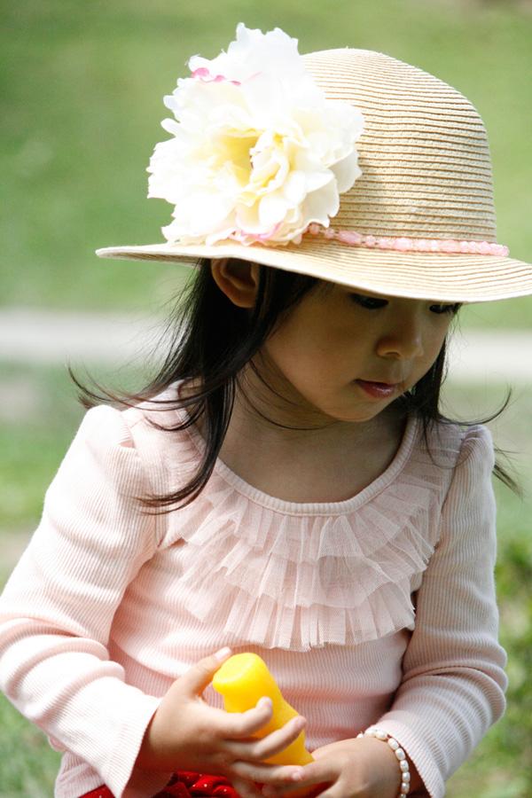 P230-夏日花草帽
