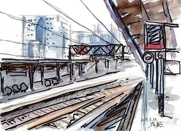 2013-03-12桃園車站