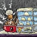 2013-01-16包子、茶葉蛋