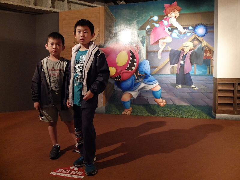 2013-11-10奇幻不思議3D幻視系列-鬼太郎特展009.jpg