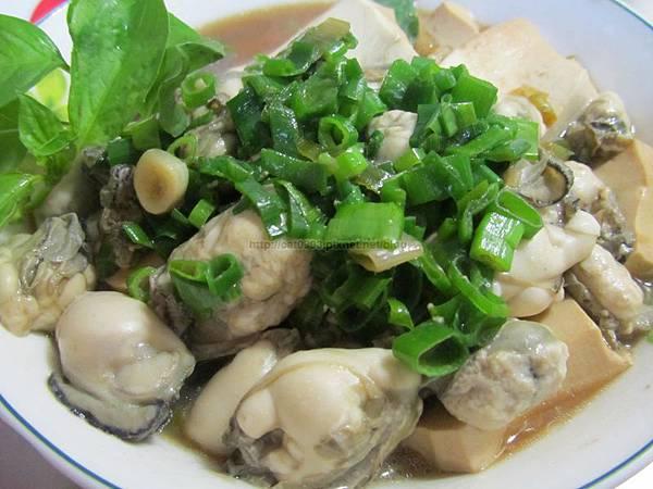 超下飯料理-豆腐鮮蚵(3人份)