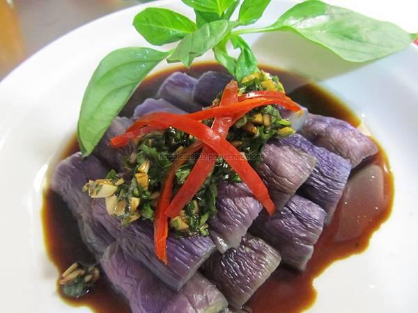 5分鐘料理-塔香茄子(保證煮完還是紫色)(2人份)