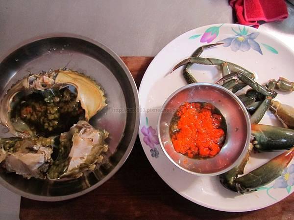 [螃蟹三吃]清蒸螃蟹 螃蟹料理 秋天螃蟹