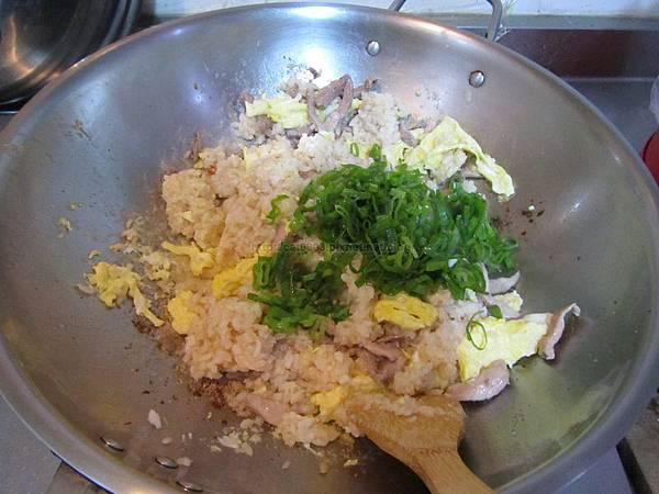 肉絲蛋炒飯(2人份)