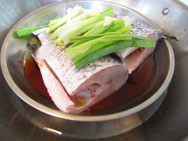 新手料理-清蒸鱸魚