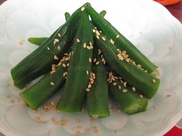 5分鐘料理-涼拌秋葵