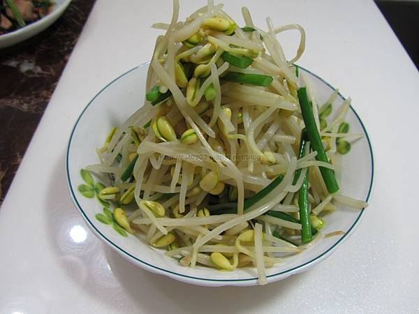 5分鐘料理-黃豆芽炒韭菜(2人份)