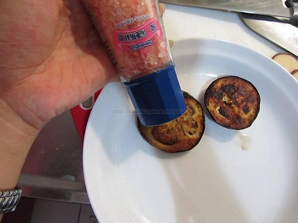 奶油香煎米茄子佐菸燻起士、茄子料理、米茄子、煙燻起士