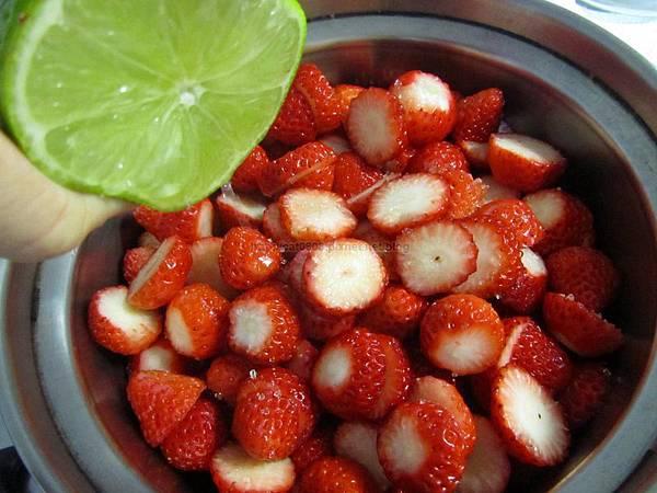 草莓果醬(季節限定:1月至4月)