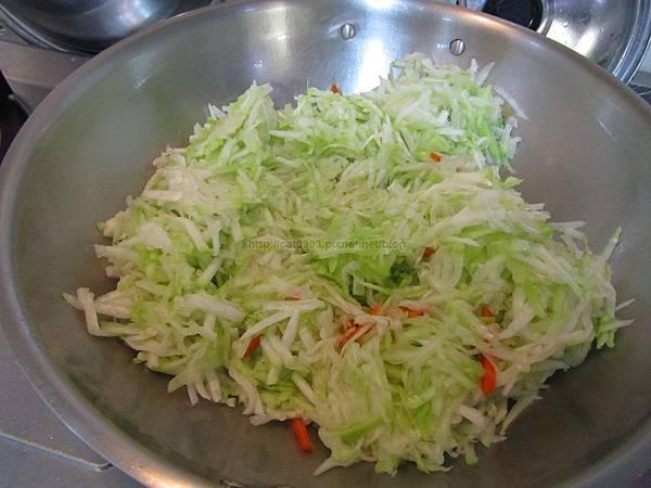 5分鐘料理-清炒瓠瓜