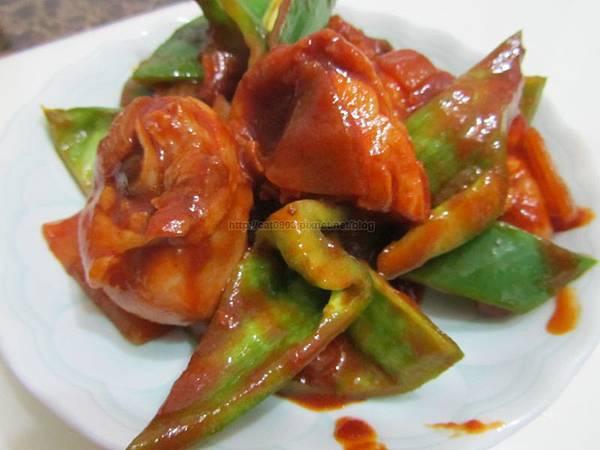 10分鐘料理-茄汁青椒雞腿(2人份),新手料理, 懶人料理,臉黃黃太太, 食譜, 料理