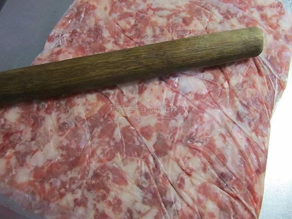 食材,食材事前處理,絞肉,豬肉,牛肉