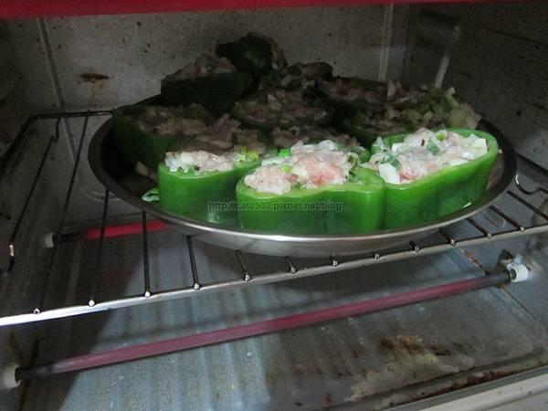 烤箱料理-青椒鑲肉(2人份),新手料理, 懶人料理,臉黃黃太太, 食譜, 料理