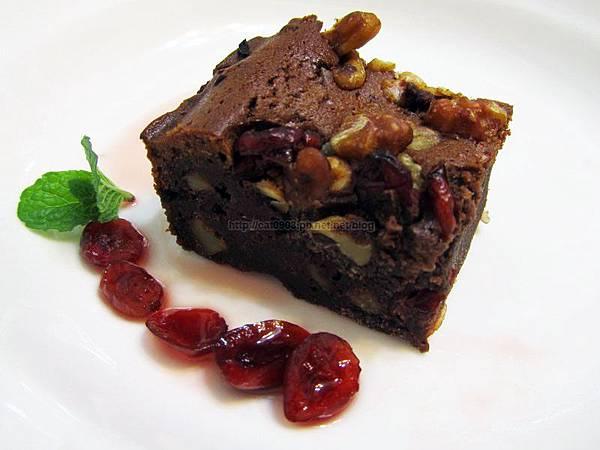 烤箱料理-核桃布朗尼(第2次做才成功),臉黃黃太太, 食譜, 料理