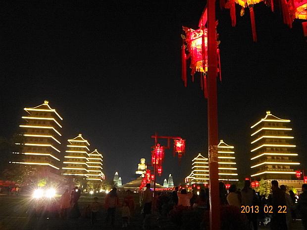 佛陀紀念館-燈會.JPG