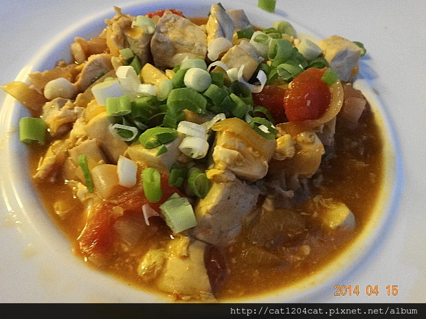 番茄豆腐燴蛋5.JPG