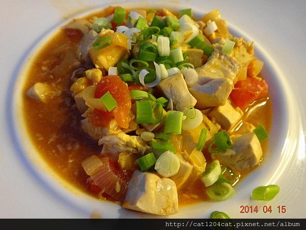 番茄豆腐燴蛋6.JPG