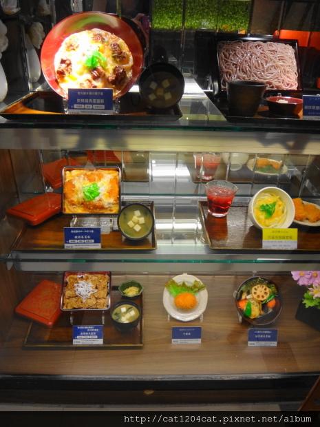 大戶屋-食物模型牆2.JPG