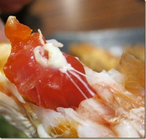 有黃的公蝦