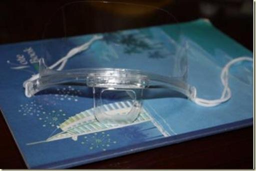 透明口罩-透明框