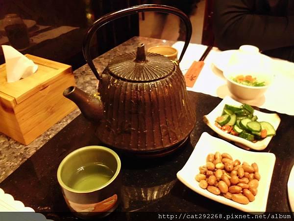 養生八寶茶+招待小菜