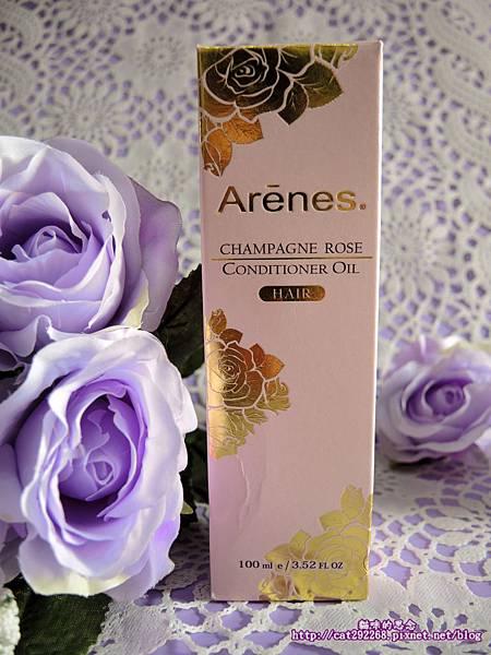 Arenes香檳玫瑰護髮油DSCN3628.jpg