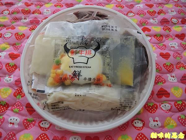 深坑 鮮平價牛排 宅配到府的五星級的饗宴-熟食牛排套餐DSCN5565.jpg