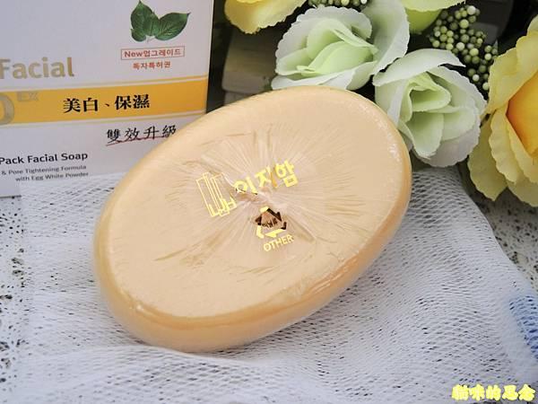 麗緻韓白潤雙效雞蛋面膜皂DSCN9262.jpg