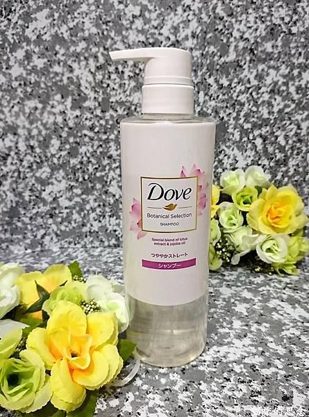 多芬日本植萃柔順保濕洗髮露DSC_5402.jpg